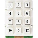 AK-207-N-WWB-WP, клавиатура