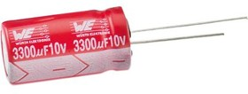 Фото 1/2 860020672002, 220nF Electrolytic Capacitor 50V dc, Through Hole -