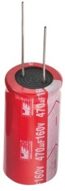 860010375017, AL ELECTROLYTIC CAPACITORS 1000I F 16V