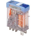 C10-A10BX/024UC, C10-A10 SPDT Non-Latching Relay Plug In, 24V ac Coil, 10A