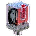 C2-A20FX/032VDC, C2-A20 DPDT Non-Latching Relay Plug In, 32V dc Coil, 10A