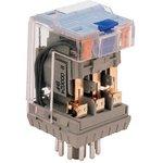 C3-T31X/024VDC, C3-T31 3PDT Non-Latching Relay Plug In, 24V dc Coil, 6A