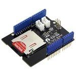 Фото 5/5 SD Card Shield V4, Arduino-совместимая плата расширения для подключения SD, SDHC и TF карт памяти.
