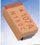Фото 1/2 TLJG107M006R0800, Cap Tant Solid 100uF 6.3V G CASE 20% (3.2 X 1.6 X 1.5mm) Inward L SMD 3216-15 0.8 Ohm 125°C T/R