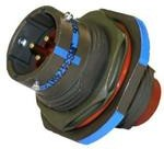 AFD54-18-8SN-6117 L/C, Conn Circular SKT 8 POS Crimp ST Jam Nut 8 Terminal 1 Port