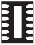 Фото 1/2 EMIF06-1005M12, EMI Filter Low Pass RC-Circuit Flat Style SMD T/R