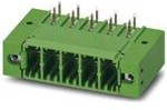 1721038, Conn Wire to Board HDR 4 POS 7.62mm Solder RA Thru-Hole