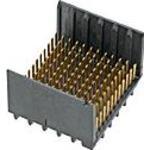 0760151102, Conn Backplane HDR 140 POS 3.7mm Press Fit ST Thru-Hole GbX I-Trac™ Tray
