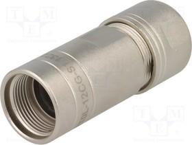 RT0L-12CG-S1, Кабельный ввод; Серия: RT360; прямой; -40 105°C; Мат-л: металл