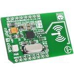 MIKROE-1305, Дочерняя плата, SPI, mikroBUS, nRF24L01P 2.4 GHz transceiver