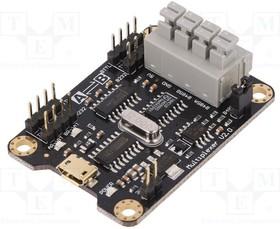 Фото 1/3 DF-TEL0070, Коммуникационный, конвертер, 3,3-5ВDC, RS232,RS485,TTL,USB