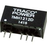 Фото 2/2 TMH 1212D, DC/DC преобразователь, 2Вт, вход 10.8-13.2В, выход 12,-12В/80мА