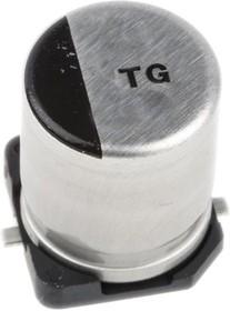 EEVTG1V471UQ, Cap Aluminum Lytic 470uF 35V 20% (12.5 X 13.5mm) SMD 0.12 Ohm 800mA 2000h 125C Automotive T/R
