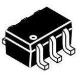 Фото 3/3 MUN5312DW1T1G, Биполярный цифровой/смещение транзистор, AEC-Q101, NPN и PNP, 50 В, 100 мА, 22 кОм, 22 кОм