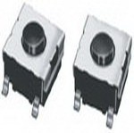 Фото 1/2 B3FS1002P, Switch Tactile N.O. SPST Flat Round Button Gull Wing 0.05A 24VDC 1.47N SMD T/R