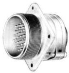 MS3100R14S-7P, Conn Cylindrical Circular PIN 3 POS Solder Cup ST Wall Mount 3 Terminal 1 Port
