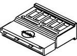 0675820000, Conn Housing RCP 15 POS 1.27mm Crimp ST Cable Mount Black Serial ATA Bag