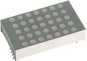 TA12-11SURKWA, Dot Matrix Display 5x7 30