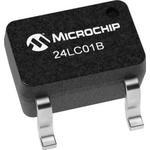 24LC01BT-I/LT, EEPROM Serial-I2C 1K-bit 128 x 8 3.3V/5V 5-Pin SC-70 T/R