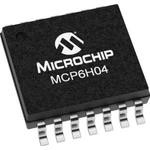 MCP6H04-E/ST, Op Amp Quad GP R-R O/P ±8V/16V Automotive 14-Pin TSSOP Tube
