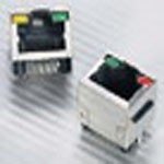 Фото 1/2 RJLSE-42381-01T, Modular Jack - Right Angle, Input Output Connectors 6P6C, SMT, Shield, Without LEDs