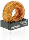 33220C, Inductor Power Toroid 22uH 15% 3.4Q-Factor 5.1A 33mOhm DCR Pin Tray
