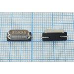 Кварц 25МГц в корпусе HC49SMD, расширенный интервал температур -40~+85C ...