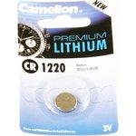 CR1220, Элемент питания литиевый (1шт) 3В
