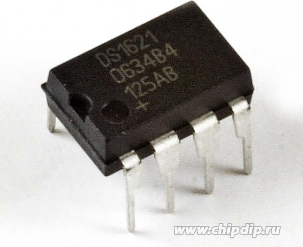 DS1621+, Термостат, точность 0.5C, Com, DIP8