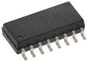 TLP291-4(E(T, PHOTOCOUPLER, TR, 2.3MM, DC, SO16