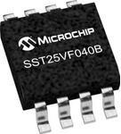 Фото 1/2 SST25VF040B-50-4C-S2AF, NOR Flash Serial-SPI 3.3V 4M-bit 512K x 8 8ns 8-Pin SOIC Tube