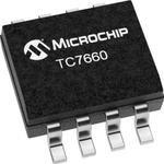 Фото 3/3 TC7660EOA, Регулируемый DC/DC преобразователь напряжения с подкачкой заряда, 1.5В до 10В, -10В до -1.5В/20мА