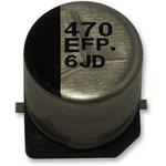 EEEFPE330UAR, SMD электролитический конденсатор, Radial Can - SMD, 33 мкФ, 25 В ...