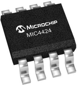 MIC4424YM, 3A DUAL HI-SPEED MOSFET DRIVER