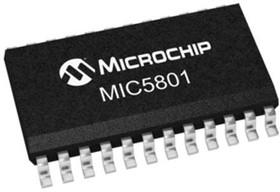 MIC5801YWM, LATCHED DRIVER 8-BIT PARALLEL