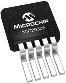 MIC29302AWU-TR, LDO Reg Adj 1.24-15V 3A 6