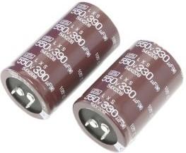 ELXS451VSN221MQ40S, Capacitor Snap-in LXS Ser