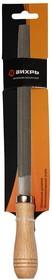 Напильник 200 мм полукруглый деревянная рукоятка Вихрь, , шт