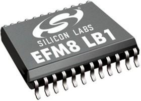 EFM8LB10F16E-A-QSOP24, MCU EFM8LB 16KB FLASH, 1KB RAM QSOP24