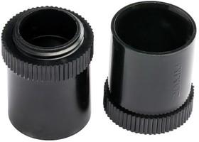 ISM80009, Black PVC male adaptor fo
