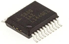 ICL3222CAZ, LINE TRANSMITTER/RECEIVER RS-232 20-SSOP