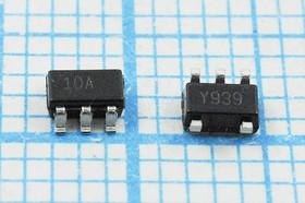 Фото 1/2 Кремниевый генератор 10МГц 5В,HCMOS, гк 10000 \\SOT23-5L\CM\5В\ STCL1100YBFCWY5\ST MIC
