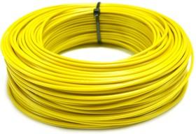 Монтажный провод НВ-4 0,35 мм кв.( желтый ) 50 м