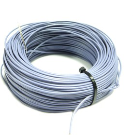 Монтажный провод НВ-4 0,35 мм кв.( серый ) 50 м