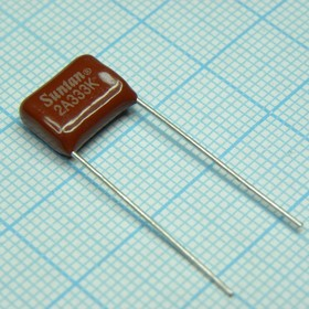 К73-17 имп, 0.033 мкФ, 100 В, 10%, Конденсатор металлоплёночный
