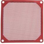 FGF-90/M красный, Фильтр для вентилятора 90х90мм (металл)