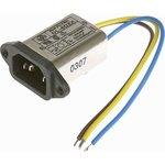 DL-6DZX, 6А, 250В, Сетевой фильтр