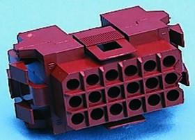 207019-1, Conn Rectangular SKT 36 POS 5mm Crimp ST Panel Mount Package