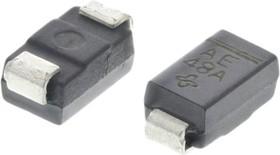 Фото 1/2 SMAJ5.0A-E361, Diode TVS Single Uni-Dir 5V 400W 2-Pin SMA T/R