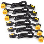 AP8714R, Power Cord Kit (6 ea), Locking, C19 to C20 (90 ...